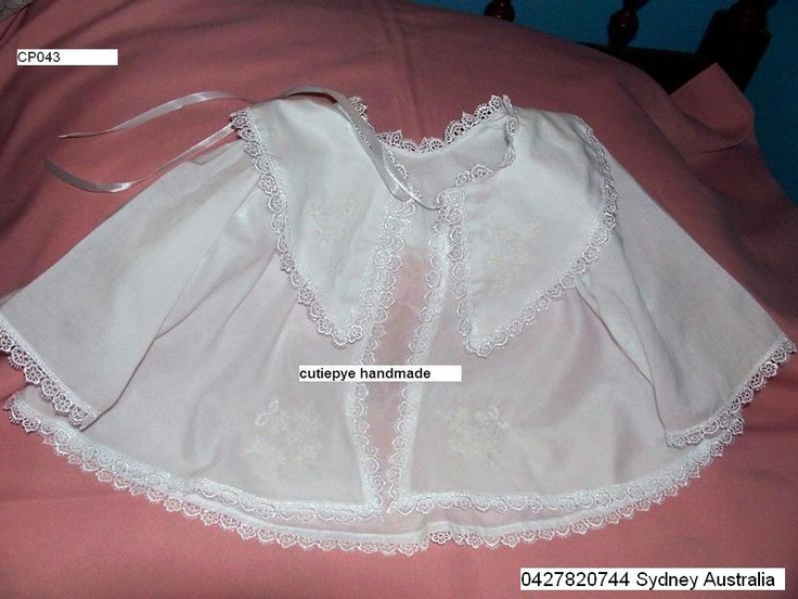 smocked by cutiepye australia 0427820744 pls ring your orders dont email, no min order is required hand embroidered victorian cape