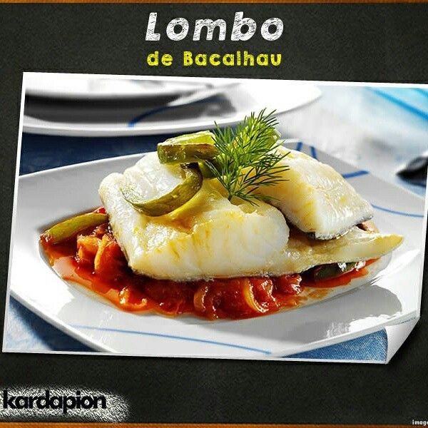 Lombo de Bacalhau Saiba onde encontrar esta delícia. www.kardapion.com/lombo-de-bacalhau