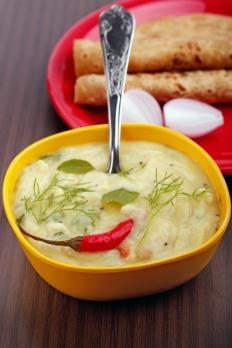 Ricetta Pasta di curry verde