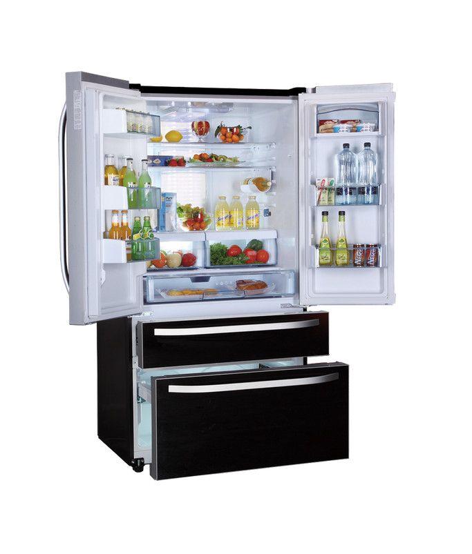 17 beste idee u00ebn over Koelkasten op Pinterest   Keuken opslag, Retro koelkast en Vintage apparaten