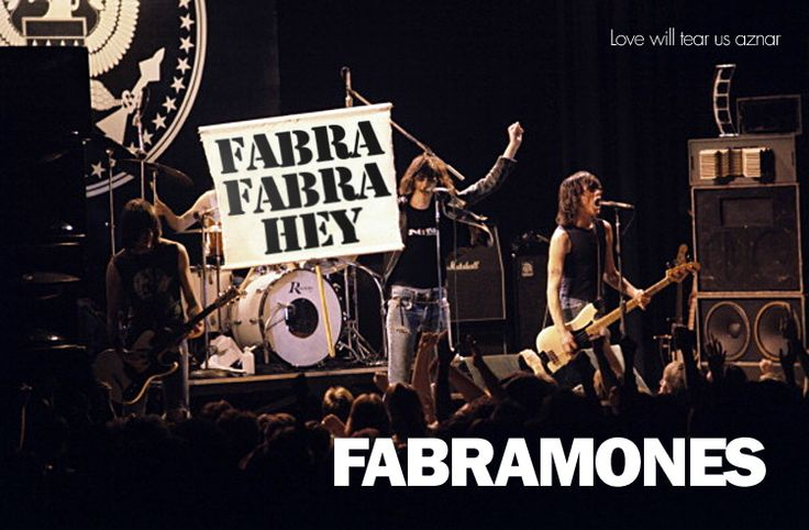 Los Fabramones en Love Will Tear Us Aznar