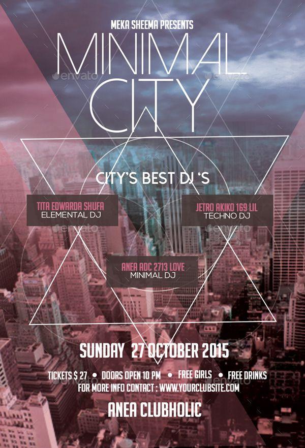 Minimal City Flyer