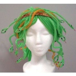 Deco Mesh Tubing Monster Wig