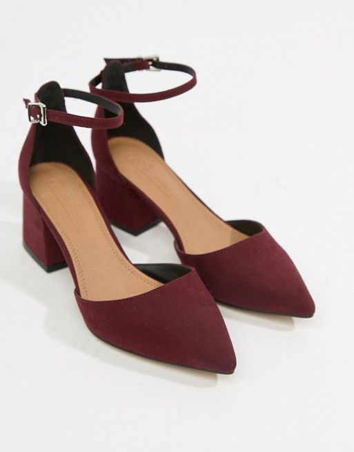 8b23c7f363 DESIGN Starling pointed heels in 2019 | Fashion outfits | Pointed ...