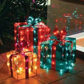 クリスマスイルミネーション飾り