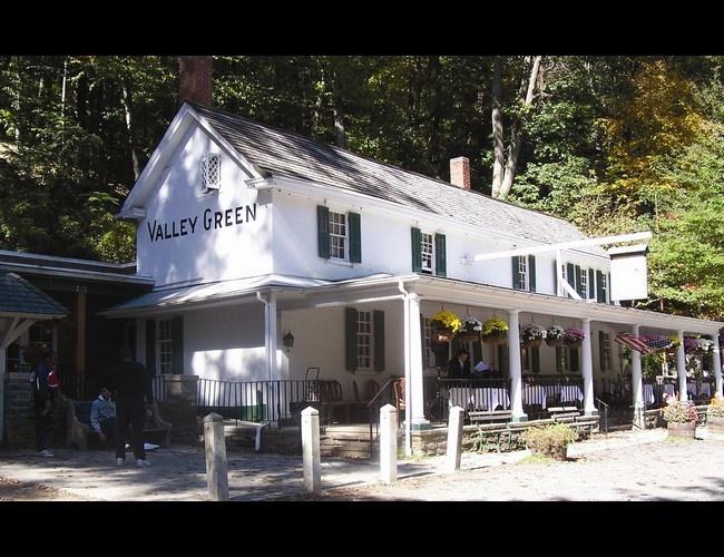 rustic wedding venue valley green inn philadelphia pa