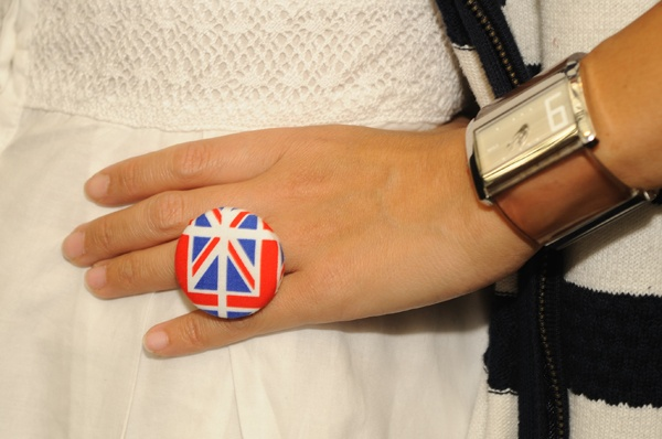 Union Jack ring from WOW jewellery