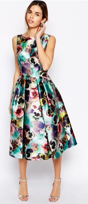 Dior floral dress