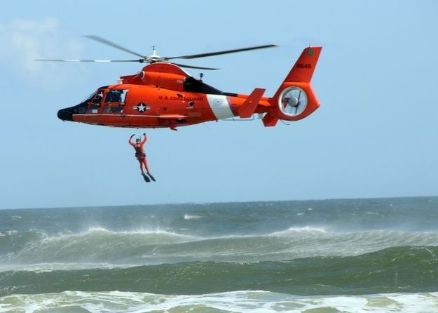10 of the toughest jobs... Coast Guard helicopters are dangerous to operate but imperative for rescue.  #everydayheros