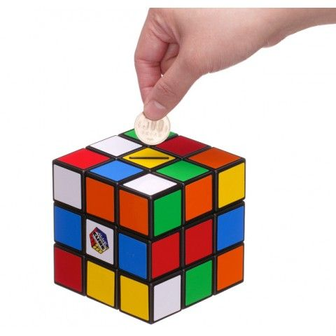 AC Gears - Megahouse Rubik's Cube Bank - Toys & Variety - Toys