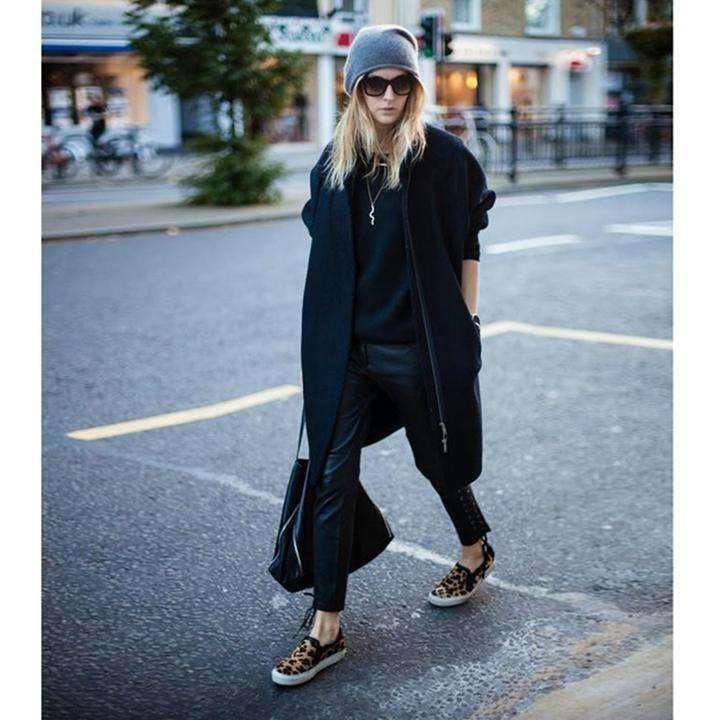 Arlenesain custom genuine leather women ankle-length pants