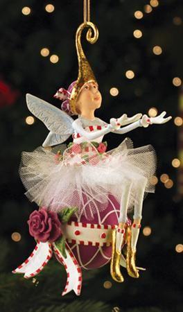 Sugar Plum Fairy Ornament - Patience Brewster