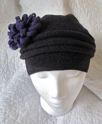 Resweater: wool hat from sweater