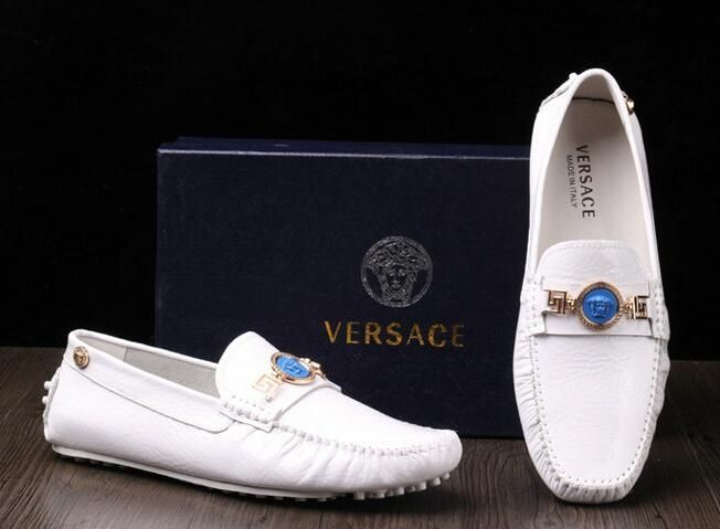 versace shoes for men white and gold. versace mens white crocodile loafers | new men leather shoes design dress for white and gold h
