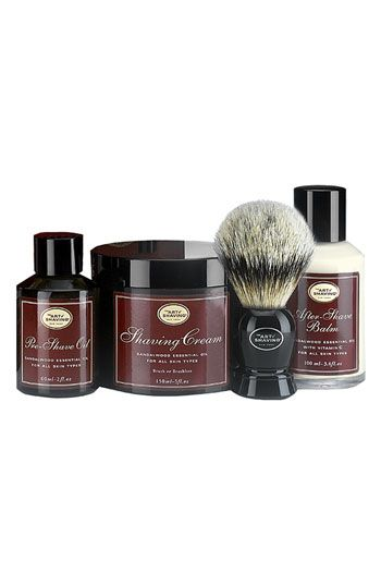 'The 4 Elements of the Perfect Shave® - Sandalwood' Kit