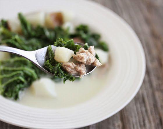 Toscana Soup (Olive Garden Copycat) | Kirbie's Cravings | A San Diego food & travel blog