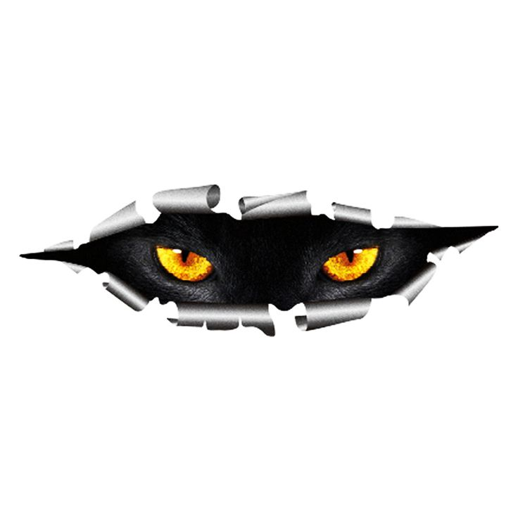 Aliexpress.com : Buy Cool 3D Car Styling Funny Cat Eyes Peeking Car Sticker Waterproof Peeking Monster Auto Accessories Whole Body Cover for All Cars from Reliable accessories toys suppliers on Shenzhen Ledsee Intl Co.,Ltd