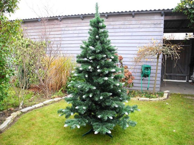 artificial christmas trees reviews out door