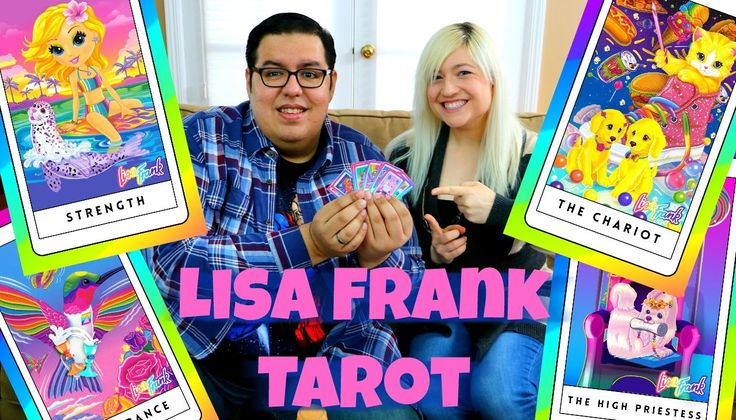 Lisa Frank Tarot Card Reading