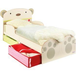 Bearhug Toddler Bed With Storage Argoscouk