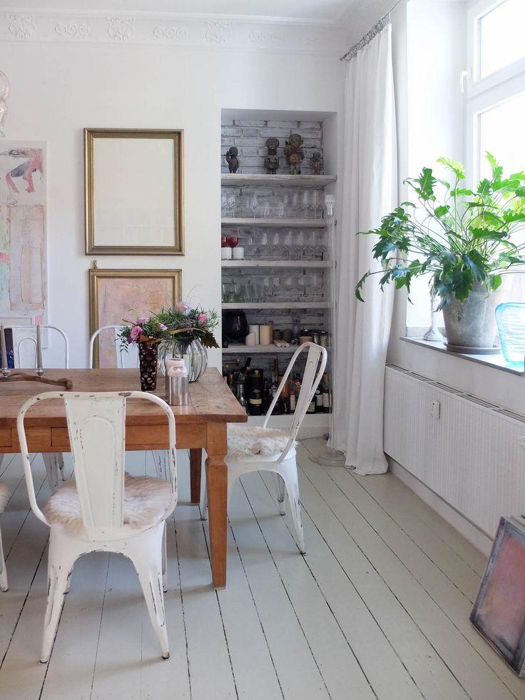 die besten 25 esstisch mit st hlen ideen auf pinterest. Black Bedroom Furniture Sets. Home Design Ideas