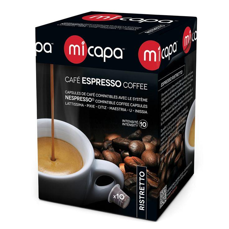 Personal Edge : Micapa RI-001-10 Ristretto Coffee Pods