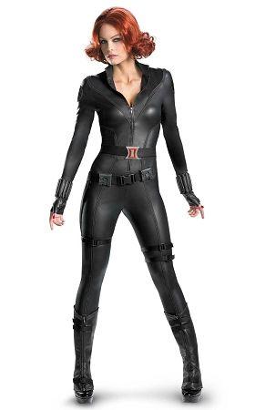 The Avengers Replica Black Widow Costume