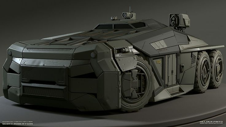 High Poly Vehicle - Helder Pinto - Final