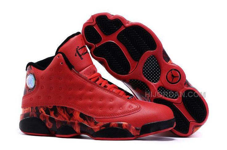 "https://www.hijordan.com/2016-air-jordans-13-custom-miami-heat-pe-shoes-for-sale.html 2016 AIR JORDANS 13 CUSTOM ""MIAMI HEAT"" PE SHOES FOR SALE Only $94.00 , Free Shipping!"