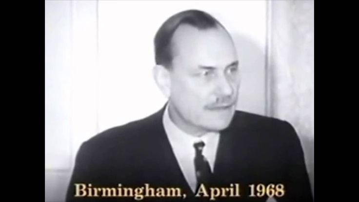 Enoch Powell's Rivers Of Blood Speech in 1080p He was right! What do you think ?