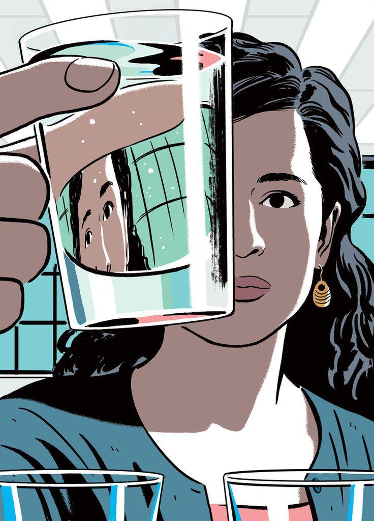 Maya Shankar and the Water In Flint Michigan — R Kikuo Johnson
