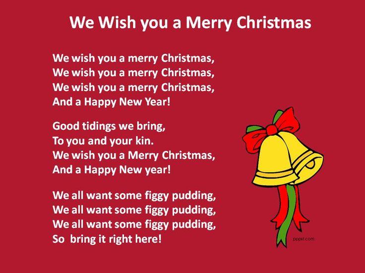 Christmas Carol Printable: 35 Best Christmas Songs 2015 Images On Pinterest