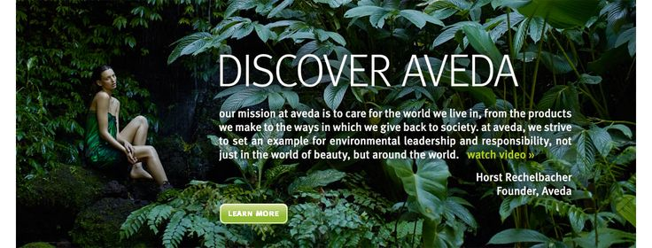 When traveling around the US, it's nice to be able to find Aveda stores most anywhere!