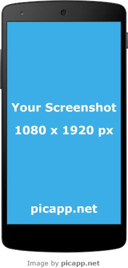 With Picapp.net you can put your screenshot app in Google Nexus 5 frame with just one click  and then to download in your PC for free!  #GoogleNexus5 #nobackground #GoogleNexusBlack #mockup
