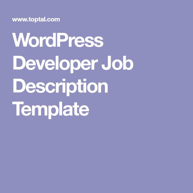 The 25+ best Job description ideas on Pinterest Build a resume - software engineer job description