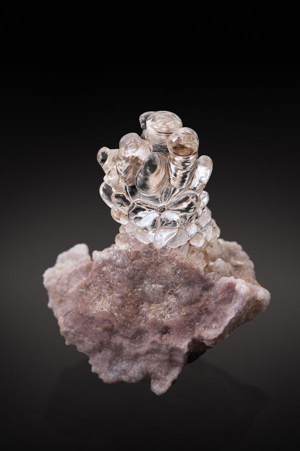 Opal var.Hyalite - Durango, Mexico size: 2.5 cm