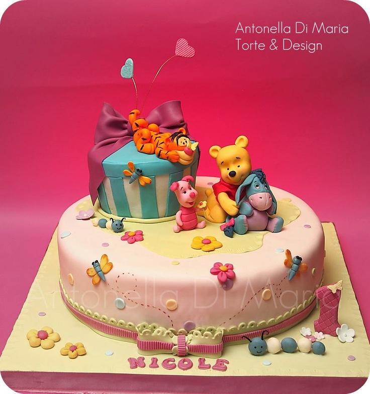 pooh bear cake Tigger Cake Pinterest Pooh bear ...