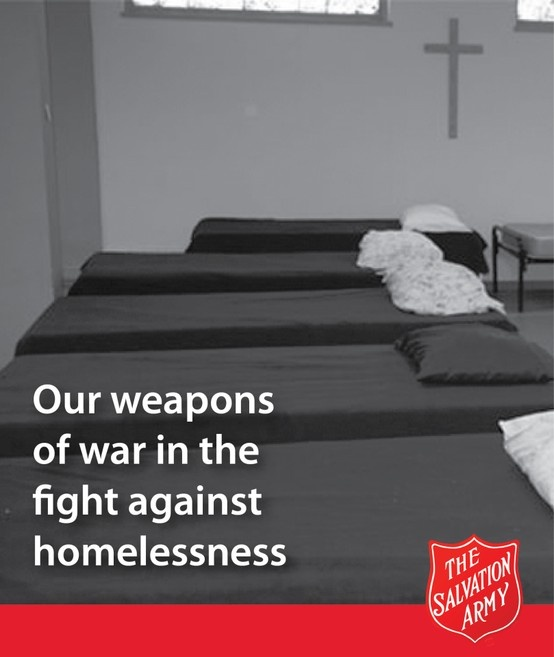 Salvation Army Weapons of War