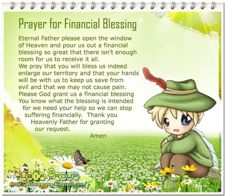 Worship & Praise: Prayer for Financial Blessing