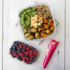 Healthy Eating On The Go. Everything you see here is free from gluten, dairy, sugar, meat and all refined and processed ingredients.