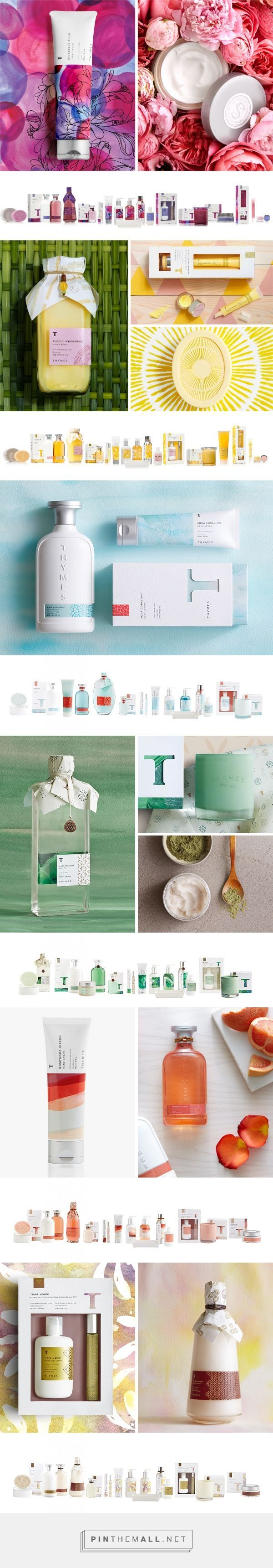 Thymes Studio Collection by Cue A Brand Design Company curated by Packaging Diva PD. Look at these great packaging assortments for Thymes fragrance collections.