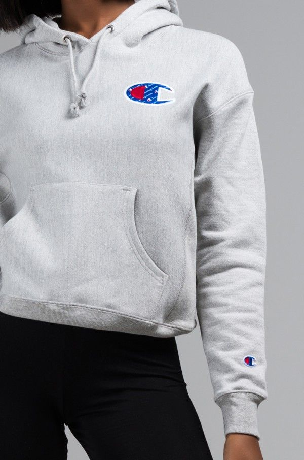 a1227373 CHAMPION WOMENS REVERSE WEAVE BIG C PULLOVER HOODIE | Champion Trend ...