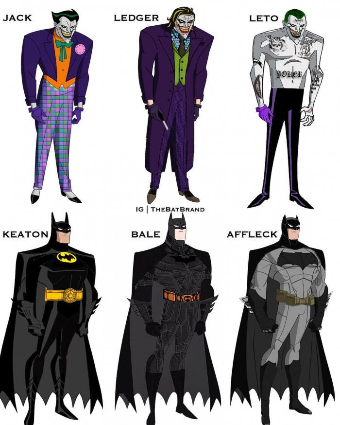 Which is the best batman and joker? Leto and Bale