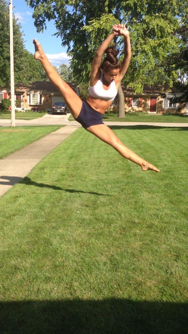 Contemporary dance trick