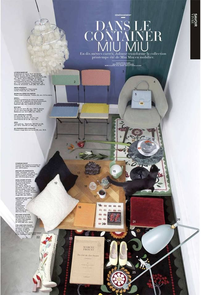 Decoplus in the latest issue of jalouse magazine #Press #Home #interior #decoration