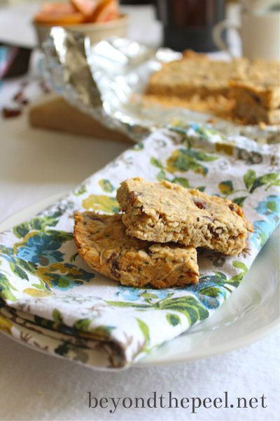 Awesome peanut butter bars for breakfast, all natural traditional ...