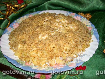 Слоеный салат Умная чикуля