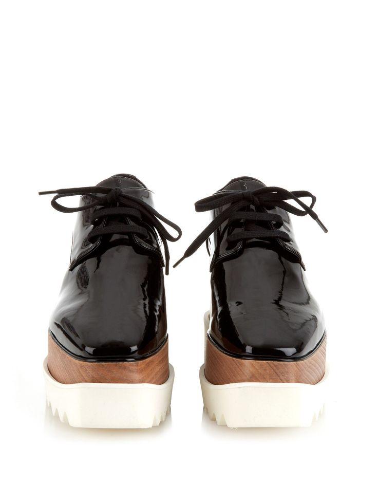 Elyse lace-up platform shoes | Stella McCartney | MATCHESFASHION.COM US