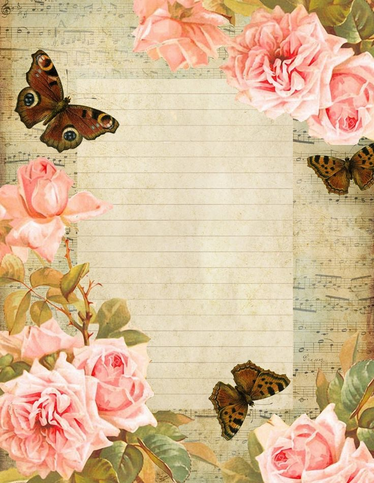 105 best Printable Stationary images on Pinterest Article - free lined stationery