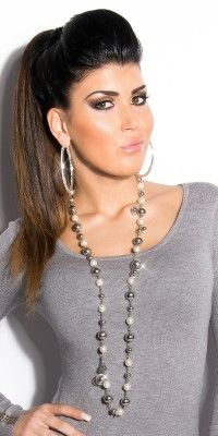 Collier Style Fashion OLIA Couleur Argent
